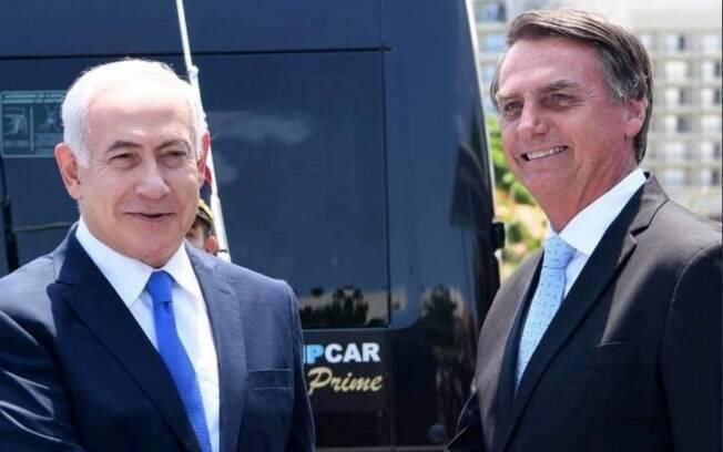 Bolsonaro irá para Israel e se reunirá com Benjamin Netanyahu; Chile, Japão e China também estão na agenda