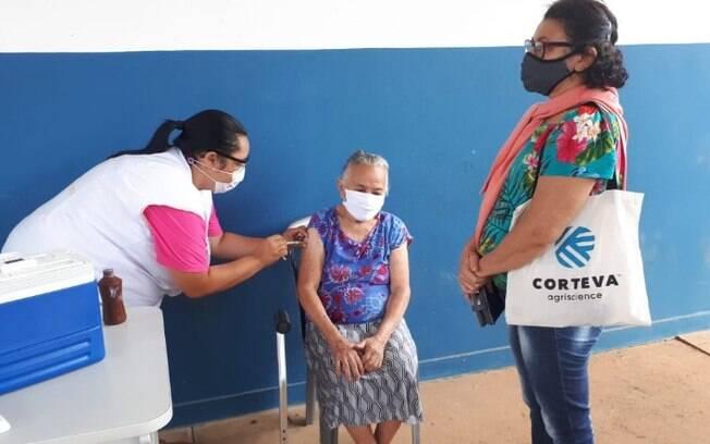 Saúde faz repescagem e localiza 133 idosos ainda não vacinados