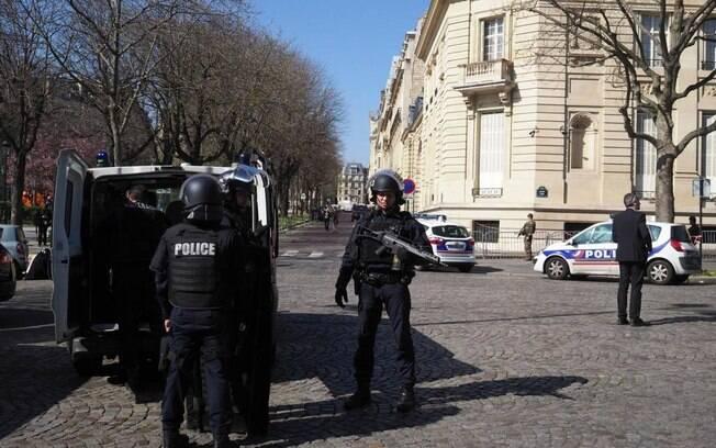 No prédio onde fica o FMI está também a sede do Banco Mundial e de uma representação da polícia francesa