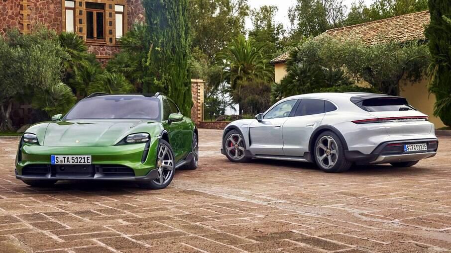 Porsche Taycan é o primeiro modelo elétrico de produção da fabricante