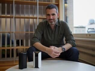 Adam Sager, CEO da Canary, empresa de segurança por vídeo: promessa de controle remoto da casa