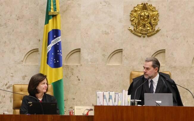 Presidente do STF, Dias Toffoli, elogiou o trabalho de Raquel Dodge à frente da PGR