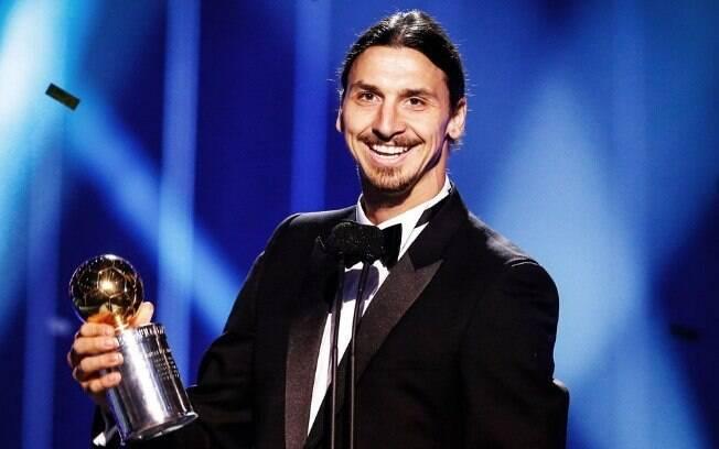 Zlatan Ibrahimovic ganhou por 11 vezes o prêmio de Melhor Jogador da Suécia