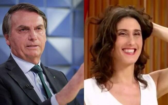 Paola Carosella fez piada de Bolsonaro
