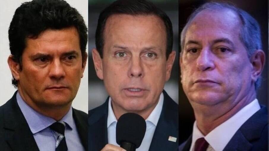 Moro,  Doria e Ciro Gomes