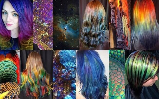 Ursula Groff cria combinações de cabelo a partir de cores encontradas natureza