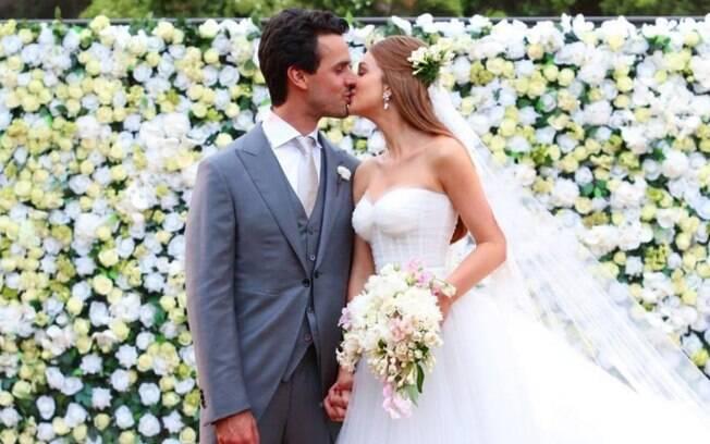 Um dos casamentos mais comentados nas redes sociais foi o de Marina Ruy Barbosa