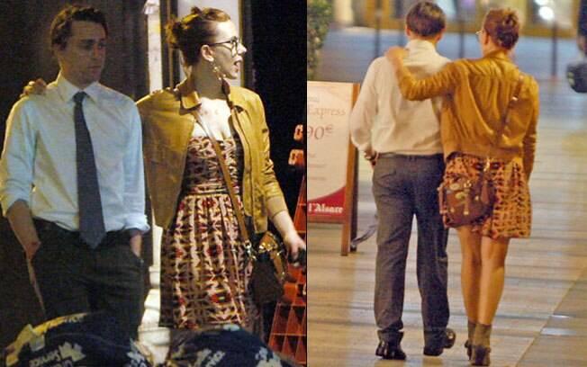 Scarlett Johansson e Kieran Culkin passeiam por Paris