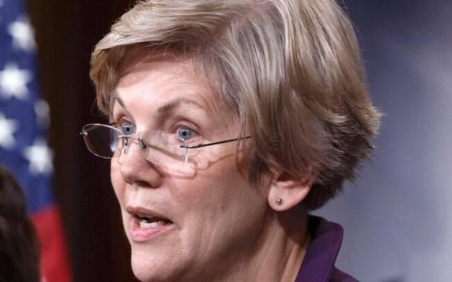 A Senadora Elizabeth Warren, possível presidenciável em 2016, tuitou contra a mudança parcial na regra