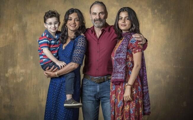 A família de Laila em