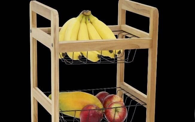 A banana deve ficar afastada dos outros alimentos