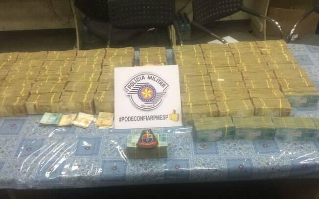 Policial Militar apreendeu quase 2 milhões de reais, em dinheiro vivo, com dupla em São Paulo