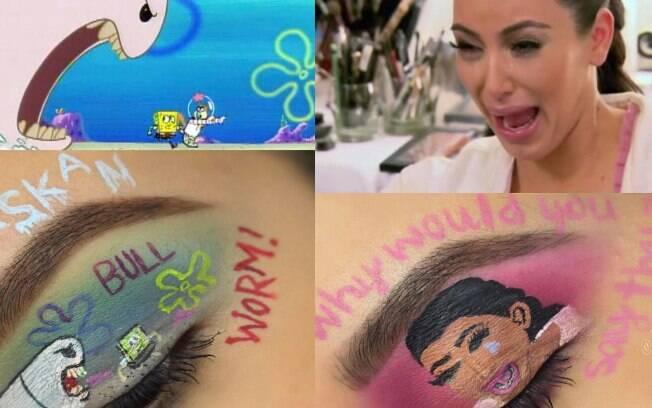 Usuária do instagram Alexis foi a que mais se empolgou com a mania dos memes, reproduzindo até a Kim Kardashian