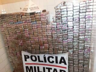 Drogas foram encontradas na zona rural de Frutal