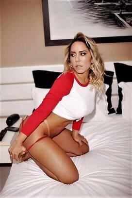 Mulher Melão em ensaio sensual. Foto: Rodrigo Torrezan
