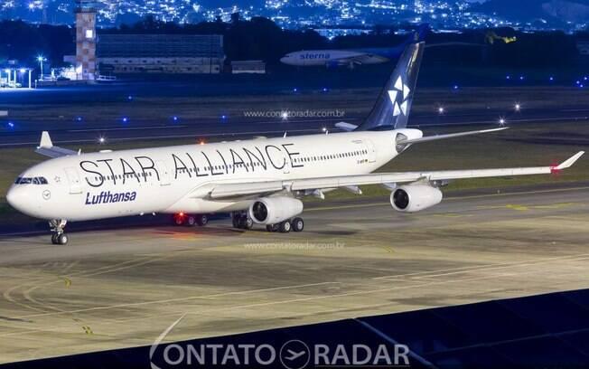 Lufthansa realizará operação com o Airbus A340 em Guarulhos