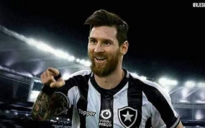 Messi no Fogão