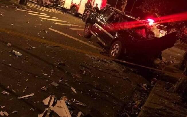 Homem teria brigado com a esposa e atropelado 18 pessoas. Duas morreram.