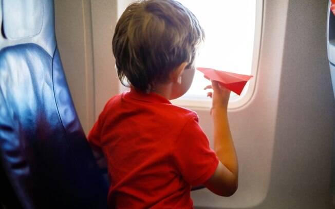 Oferecer informações com recursos visuais sobre a viagem ou o passeio ajuda a diminuir a ansiedade da criança