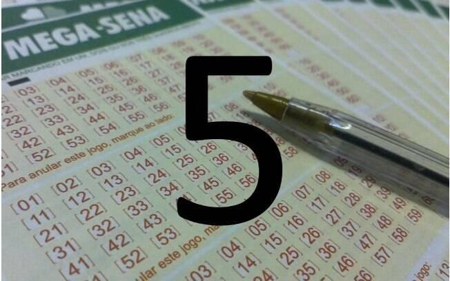 O campeão da Mega-Sena: o número 5 foi sorteado 196 vezes desde o início da loteria, em 1996