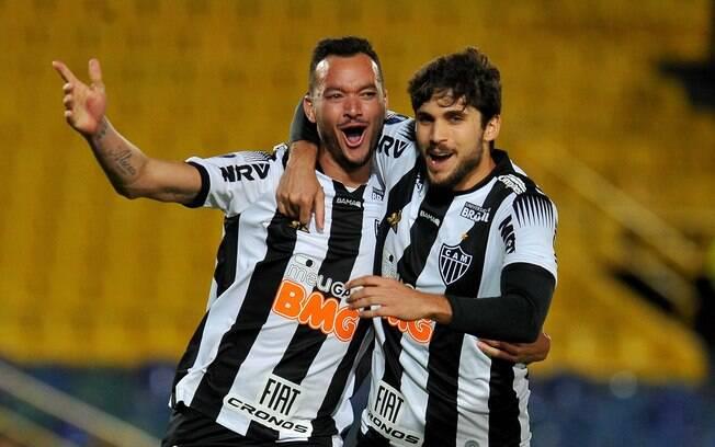 Réver fez o primeiro gol do Atlético-MG na Colômbia