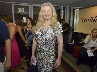 Vera Fischer em evento no começo deste ano no Rio