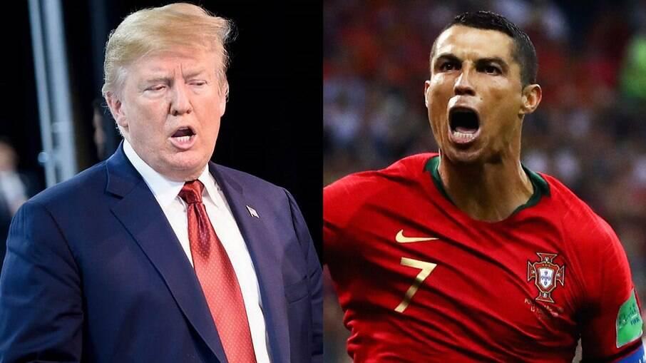 Trump e Ronaldo