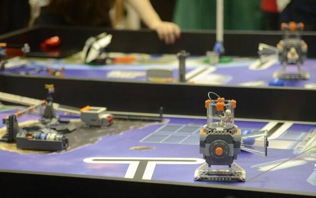 Brasileiros foram finalistas em três modalidades na competição de robótica