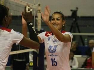 Luciane Escouto foi comandada por Bernardinho por uma temporada