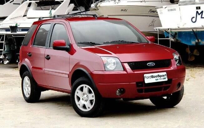 Ford EcoSport é um dos carros pioneiros por ter sido o primeiro SUV de sucesso a utilizar a receita dos dias de hoje