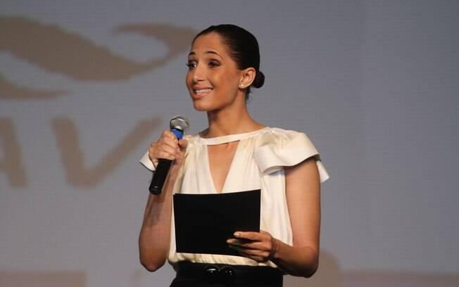 Camila Pitanga participa de Congresso no Rio