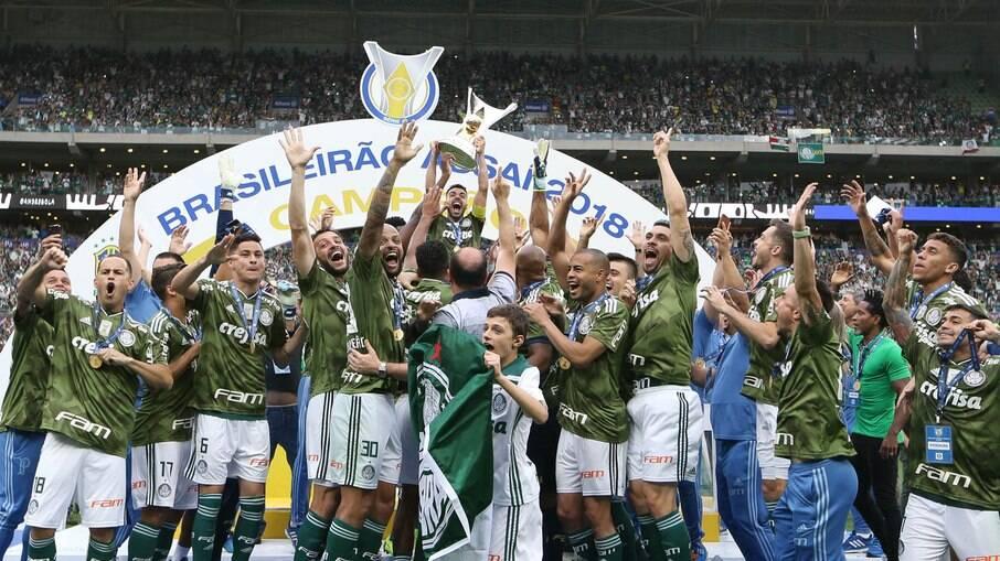 Palmeiras tem longa história de títulos