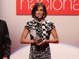 Deborah Secco recebeu prêmio