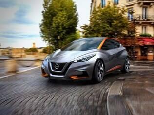 Nissan Sway serviu de inspiração para o desenho arrojado do novo Nissan March