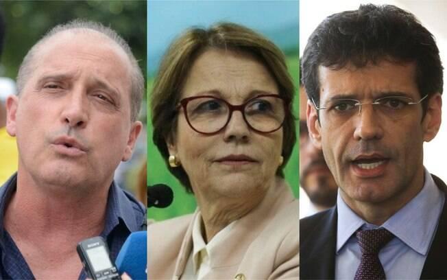 Onyx Lorenzoni, Tereza Cristina e Marcelo Álvaro Antônio vão reassumir seus mandatos para votar a nova Previdência
