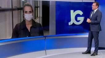 Rodrigo Bocardi salva repórter que se confundiu sobre vacinação