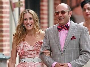 Carrie e seu melhor amigo gay Stanford em 'Sex and The City'