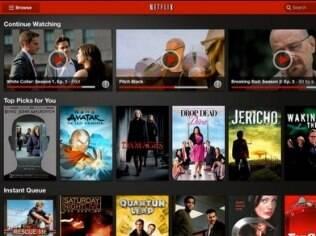 Netflix para iPad e iPhone agora funciona no Brasil