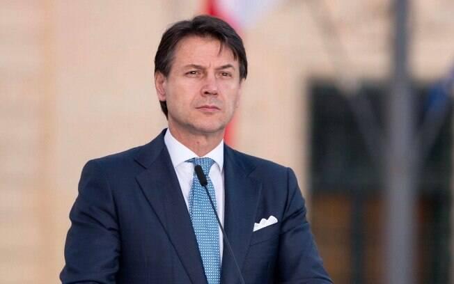Giuseppe Conte estava no cargo de primeiro-ministro desde o ano passado