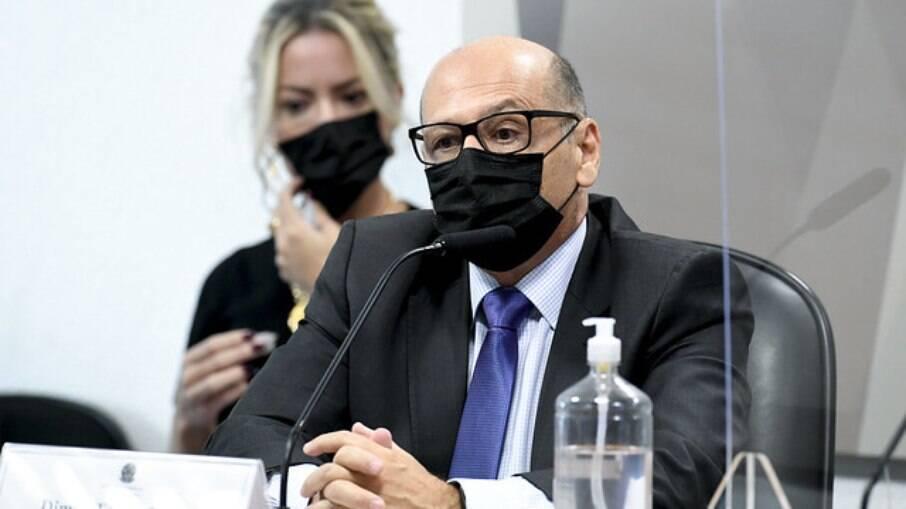 Dimas Covas na CPI da Covid