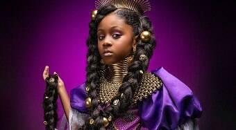 Série mostra meninas negras representando princesas da Disney