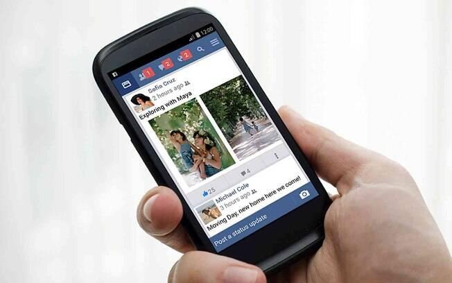 Facebook Lite tem aparência similar ao aplicativo original