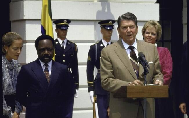 Ronald Reagan, ex-presidente dos EUA, xinga delegados da ONU de