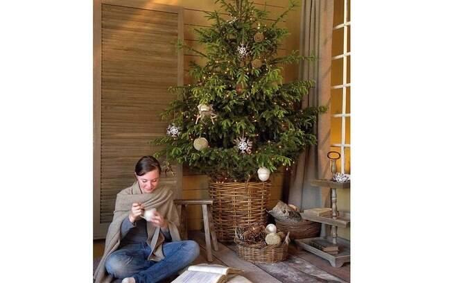 As árvores de natal tradicionais ocupam nosso coração! São elas que estão na nossa memória e são sempre bem vindas nessa celebração