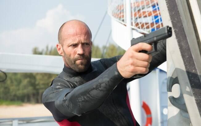 Jason Statham em cena da sequência de