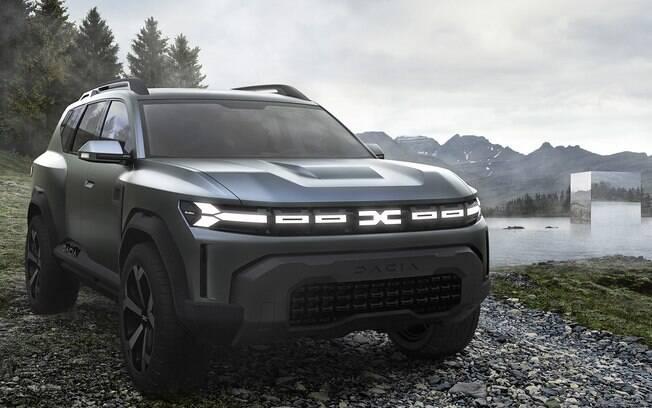 Dacia Bigster: vai servir de base para o novo SUV médio que deverá ser vendido no Brasil  e outros países do Mercosul com a marca Renault