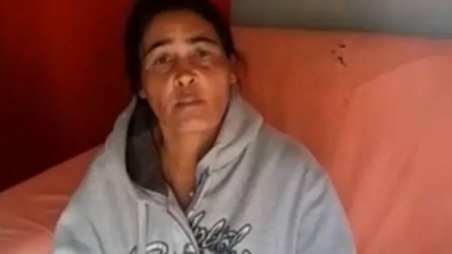 Eva Maria, mãe de Lázaro Barbosa de Sousa