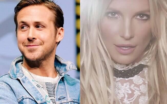 Ryan Gosling teve uma paixãozinha pela princesinha do pop, Britney Spears