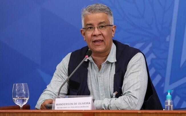 O secretário de Vigilância em Saúde, Wanderson Oliveira