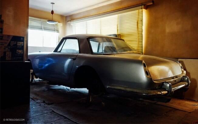 Ferrari 250 GT Pininfarina também ficou guardada por vários anos nos EUA, assim com o Mercedes 300SL